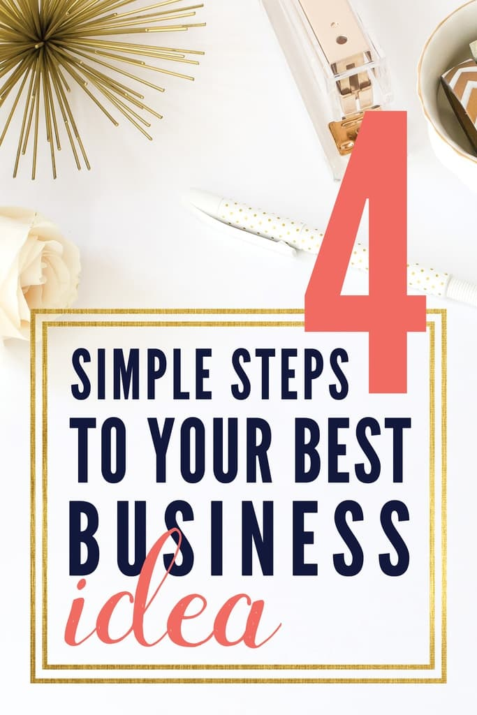 Just any old business idea just won't work. Discover the best small business idea for you!