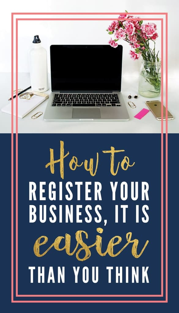 Quickly learn how to register your new small business with your state and the federal government. You'll be glad you did!