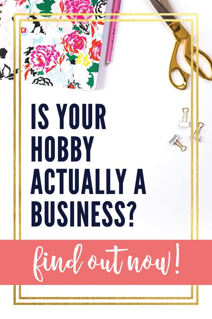 Is your latest activity a hobby or a business? Learn how to know if your most recent venture qualifies as a hobby or a business in the eyes of the IRS.