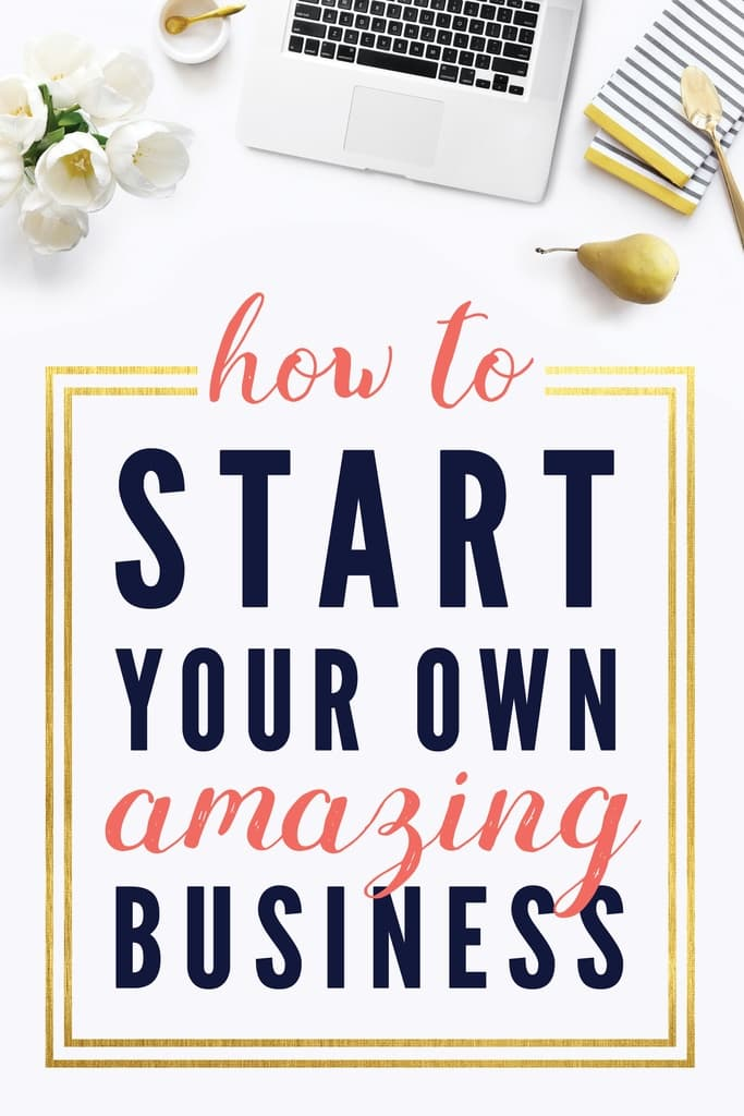 how to start your own amazing business small business sarahget your free small business startup checklist!