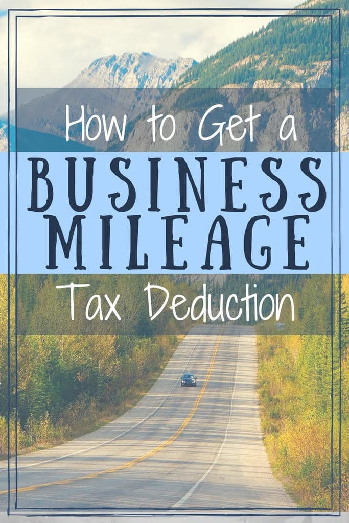 How to get a business mileage tax deduction