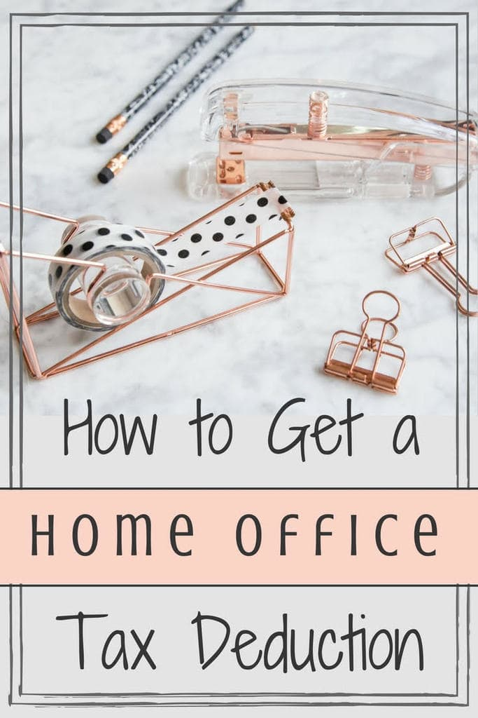 How to Get a Home Office Tax Deduction for your home based business