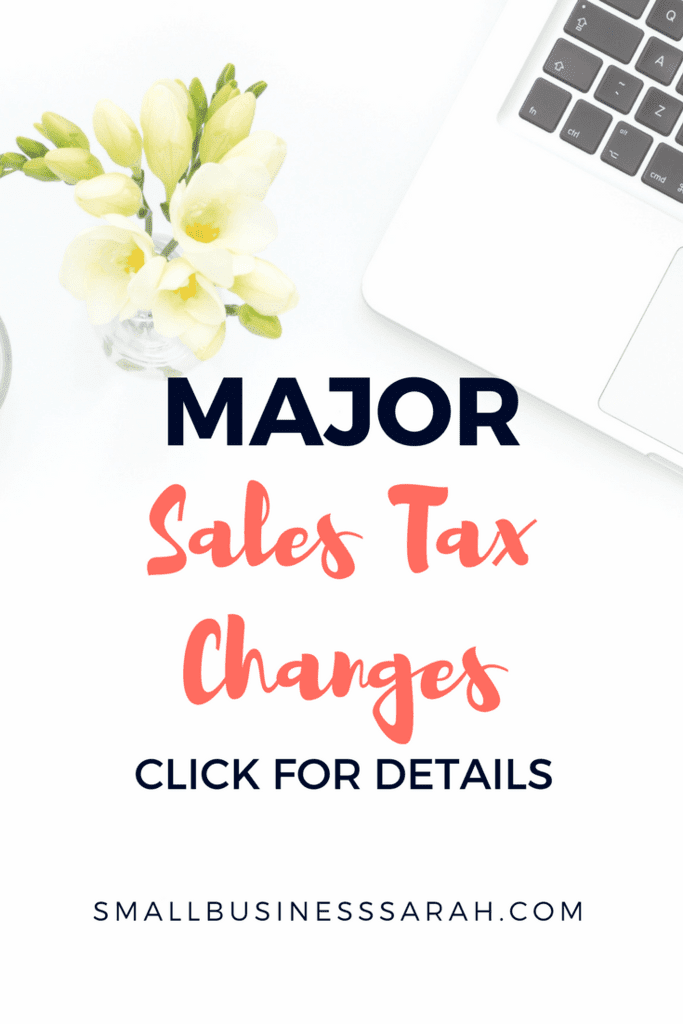 Understand the most recent changes to sales tax that most likely affect you and your online business.