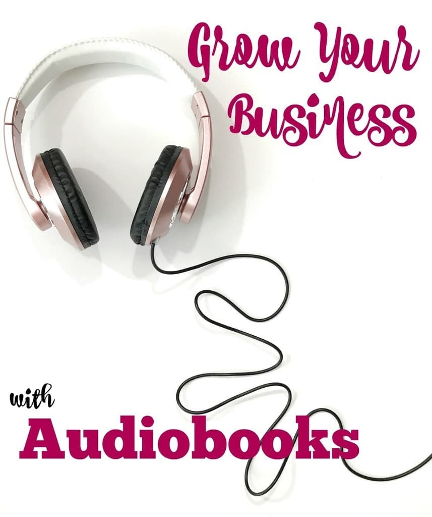 grow your business with audiobooks