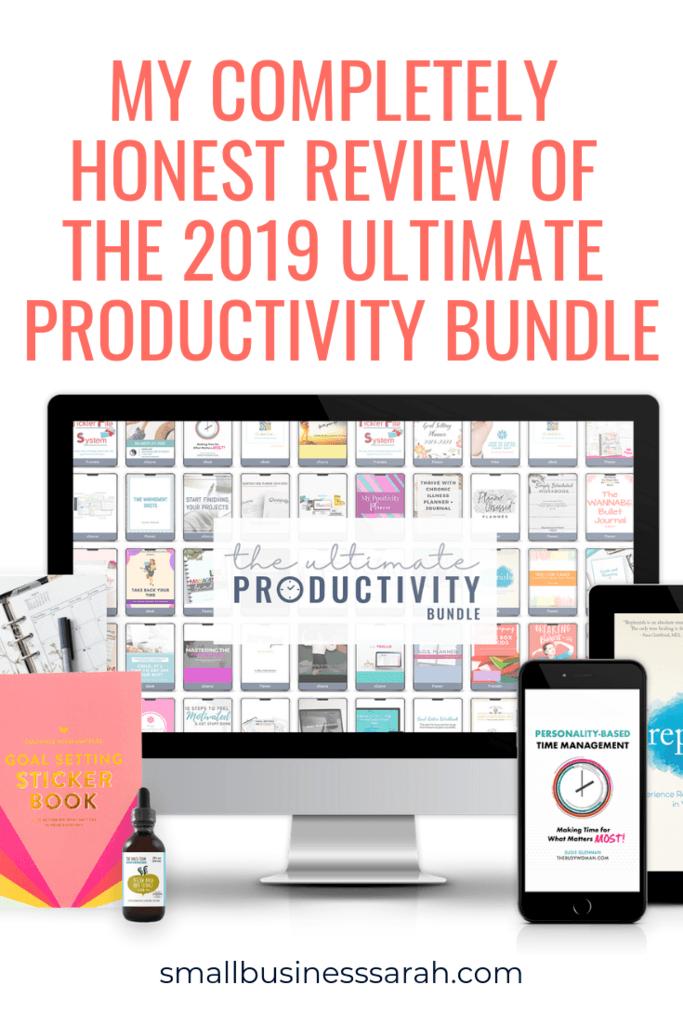 Is the 2019 Ultimate Productivity Bundle right for you? Read my honest review!