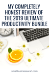 Is the 2019 Ultimate Productivity Bundle right for you? Learn more in my honest review!
