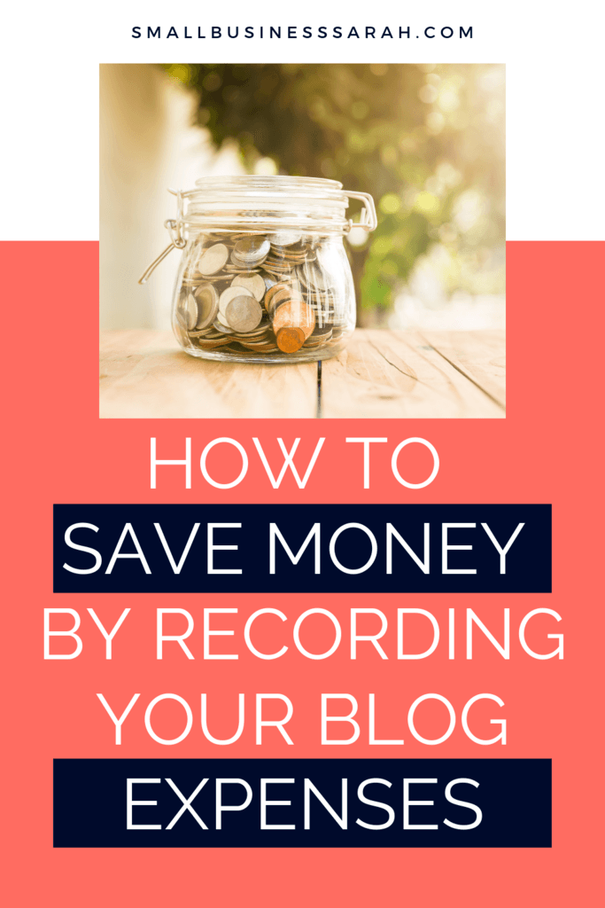 How to Save Money By Recording Your Blog Expenses