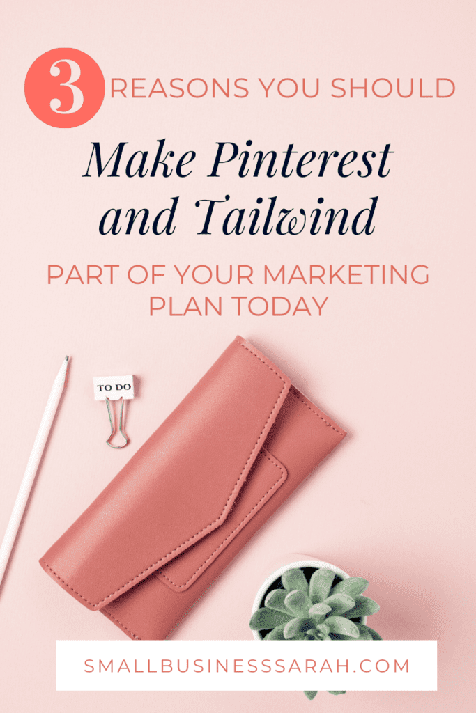 Wondering how you can market your business online? This post offers tips for 3 ways you can use Pinterest and Tailwind to grow your business.