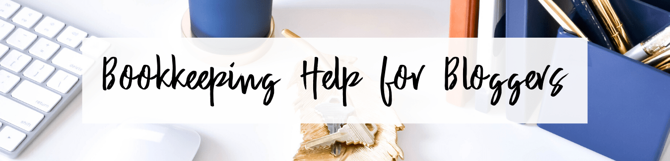 Bookkeeping help for bloggers