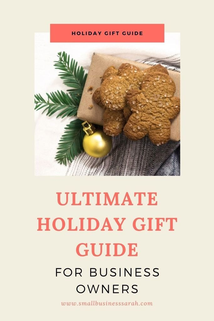 Looking for a gift for an entrepreneur? Then be sure to check out this Ultimate Gift Guide for Business Owners. It's full of ideas to help you choose to the perfect gift.