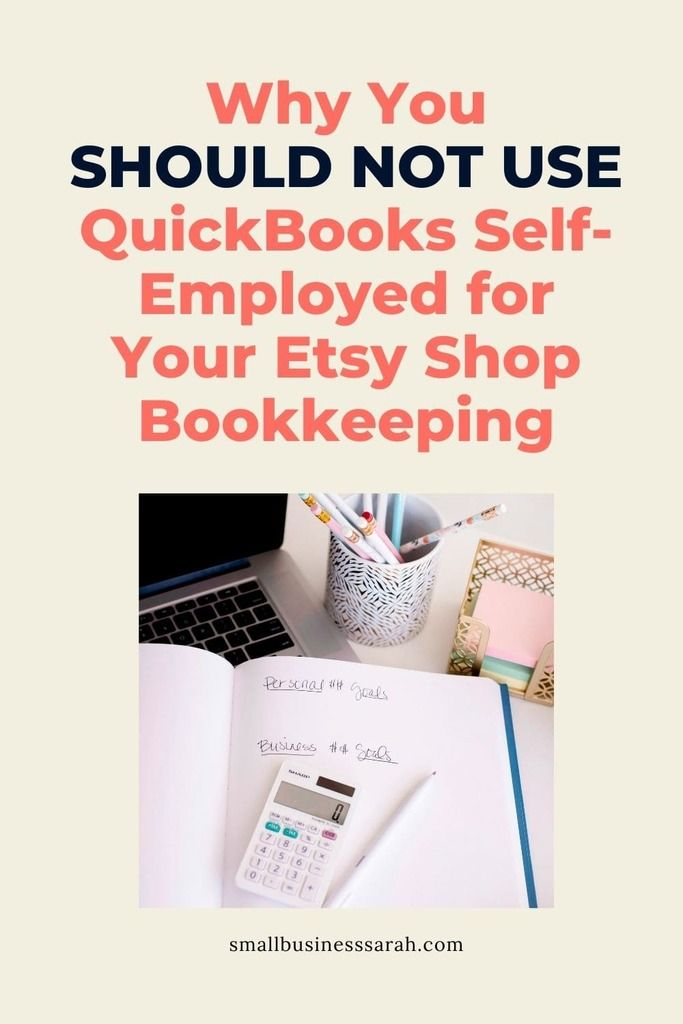 Quickbooks makes their Self-Employed product sound like the perfect solution for Etsy sellers. However, there are a few serious issues. Be sure to read this post to find out why you should NOT use QuickBooks Self-Employed for your Etsy shop bookkeeping.
